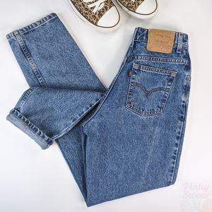 80s VTG Levi's 550 High Rise Mom Jeans 26 x 32